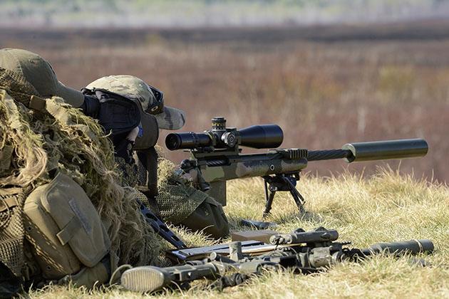 Sniper evolution behind record shot