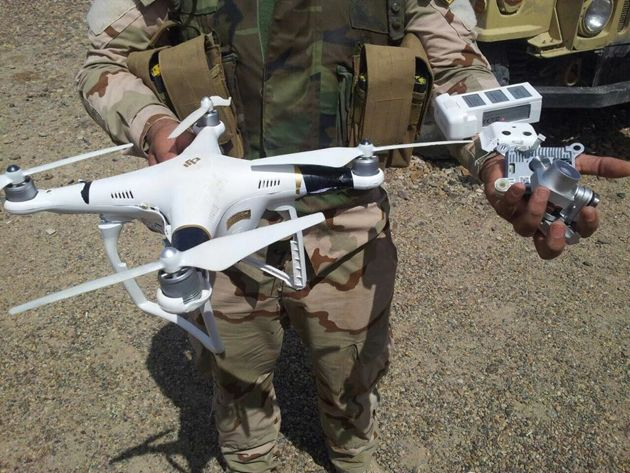 SOFIC 2017: Quadcopters and air superiority