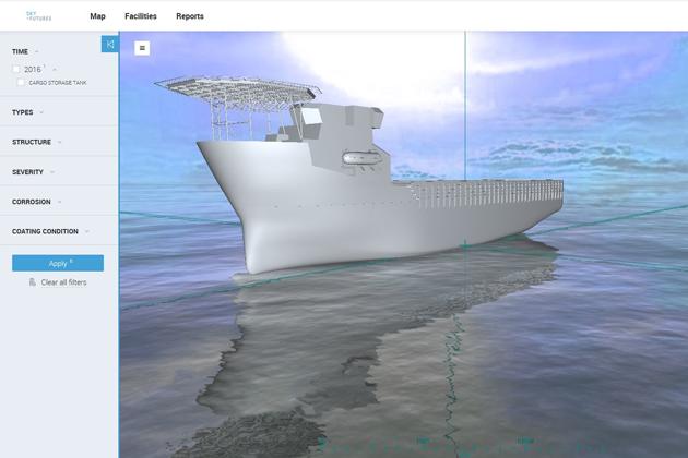 Sky Futures targets UAS vessel inspection market