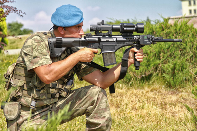 Turkey receives new assault rifle