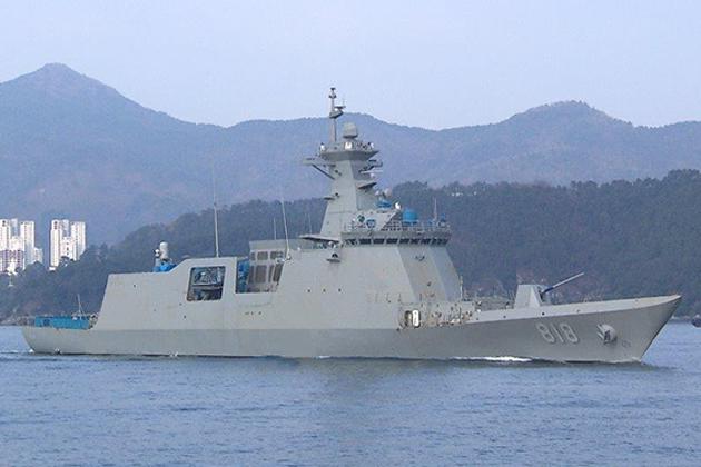 MT30 turbines ordered for Korean frigates