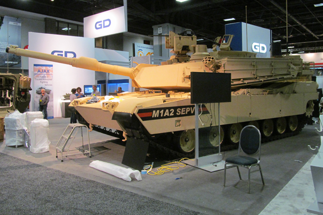 AUSA 2015: Abrams SEPv3 upgrade tested