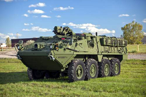 AUSA 2012: US Army Quantifies Stryker Double-V Hull