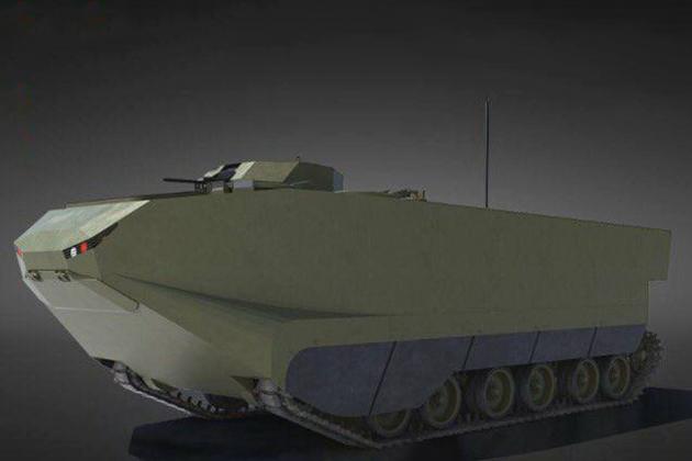 Turkey orders new amphibious vehicle