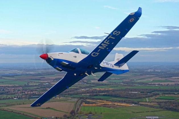 RAF's Grob 120TP ready to fly