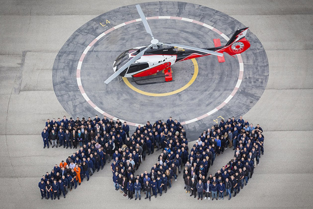 Airbus Helicopters hits H130 milestone