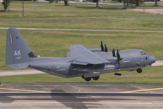 First HC-130J Delivered To Alaska Guard