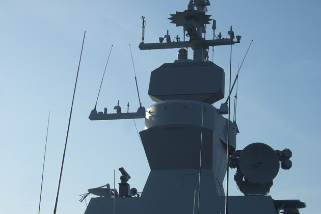 IAI installs ALPHA radar on Israeli vessel
