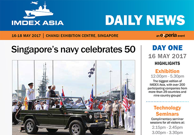 IMDEX Asia Daily News - Day One