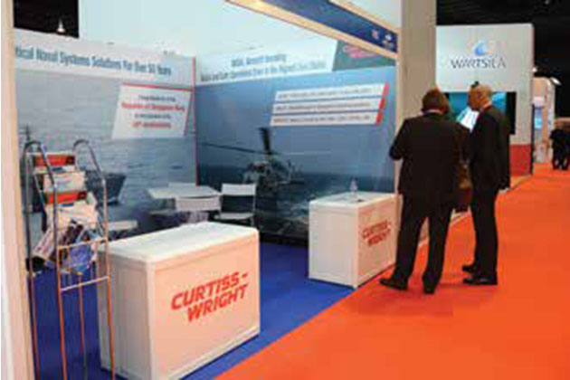 IMDEX Asia: Curtiss Wright secures and traverses at IMDEX