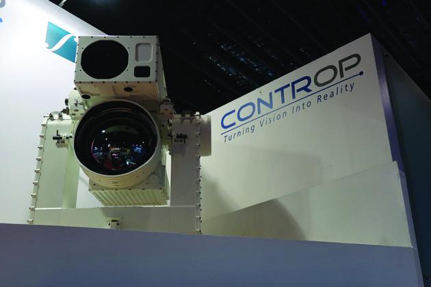 IMDEX Asia: Controp displays latest sensors