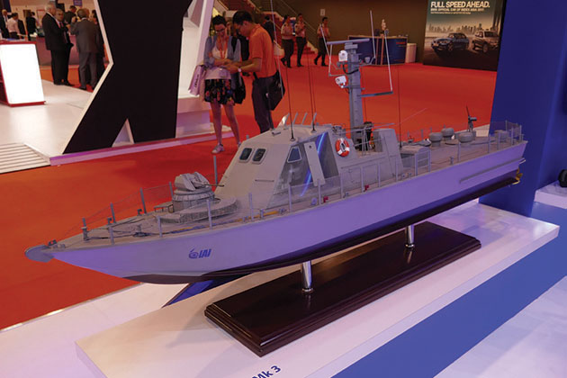 IMDEX Asia: IAI Ramta showcases Super Dvora Mk 3