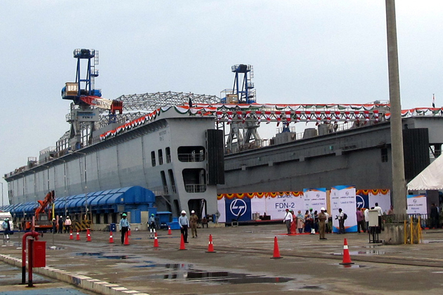 Dry dock brings strategic succour to Indian Navy