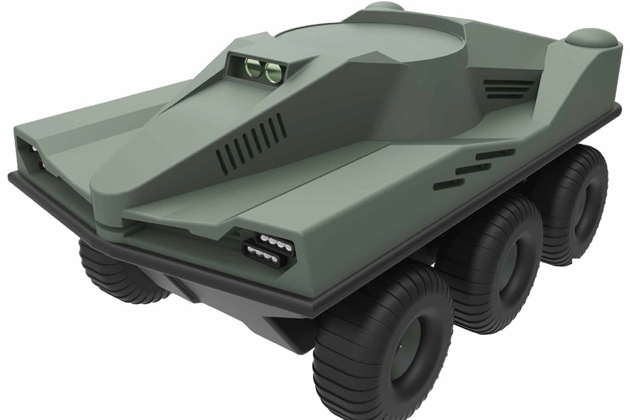 Milipol Asia 2017: Jaeger UGV ready for sale