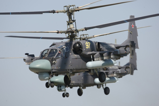 Egypt to receive first Ka-52 helicopters