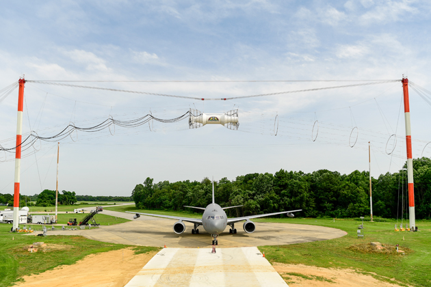 Boeing completes KC-46 electromagnetic testing