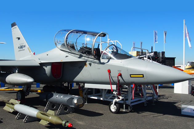 Paris Air show: Leonardo pushes M-346 for ASDOT