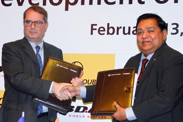 MBDA, L&T form Indian joint venture