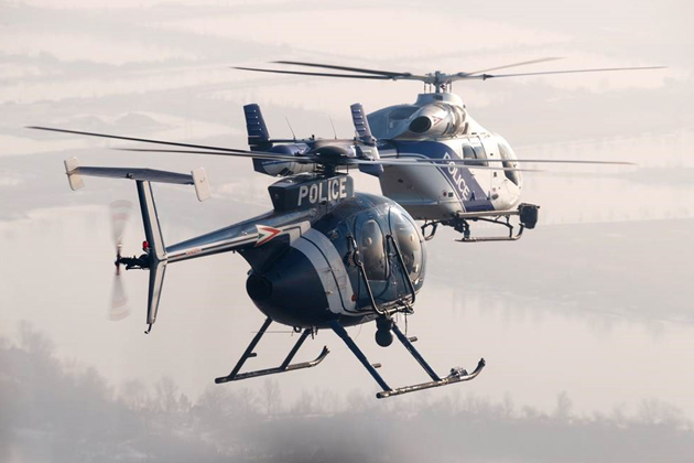 MD 902 helicopters delivered in Hungary