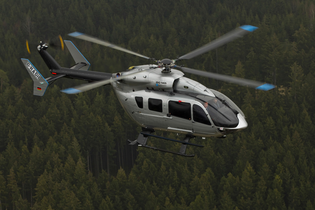 Meravo selects Eurocopter EC145 helicopter