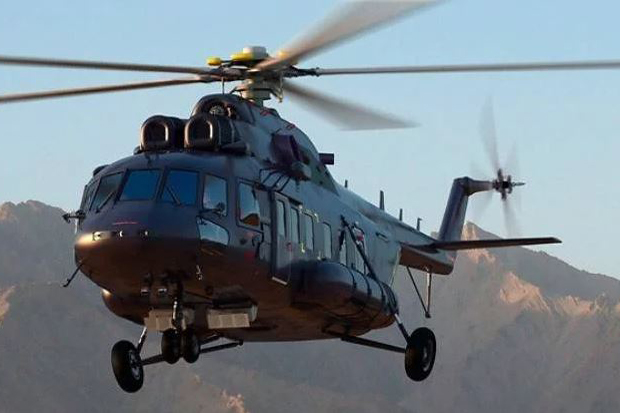 Mi-171 delivered to Pakistan