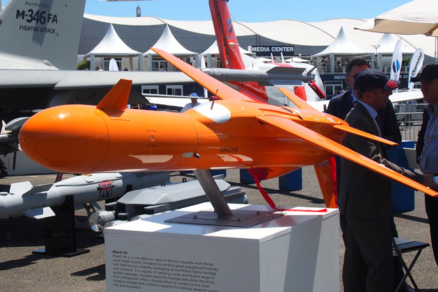 Paris Air Show: New target drone on target