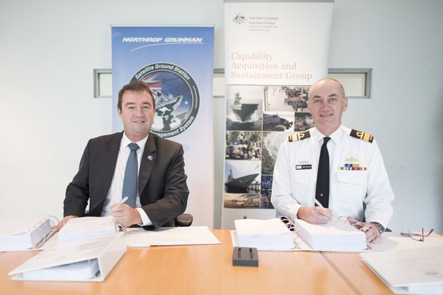 Northrop to deliver SATCOMs for ADF