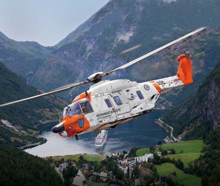 NH90 pre-selected for future Norwegian SAR capability