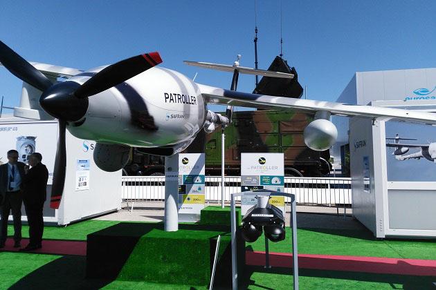 Paris Air Show: Patroller integration continues
