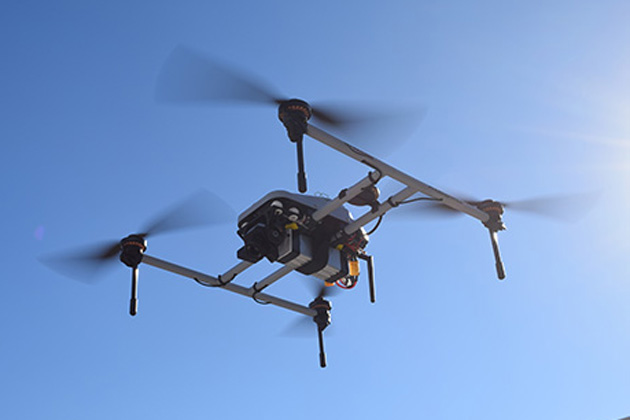 Phoenix UAS flies using 4G LTE