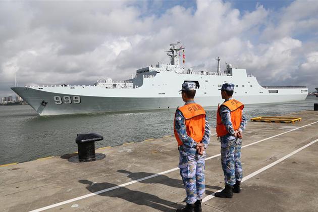 China preps 'logistics base' in Djibouti