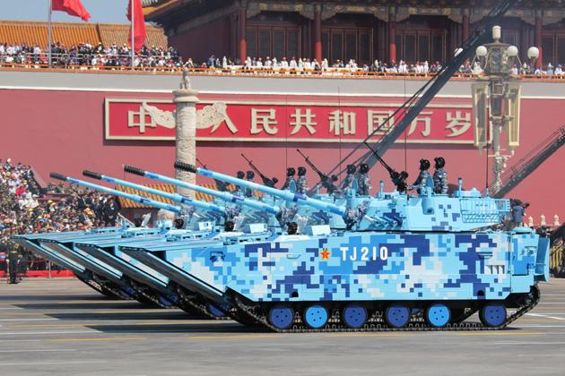 PLA expanding marine corps