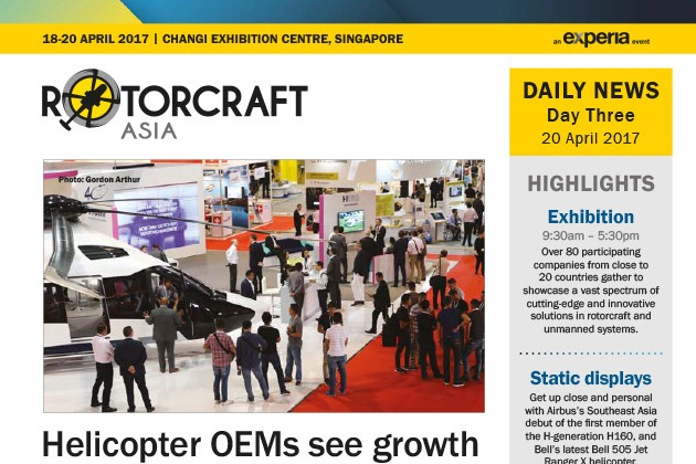 Rotorcraft Asia 2017 Daily News - Day Three