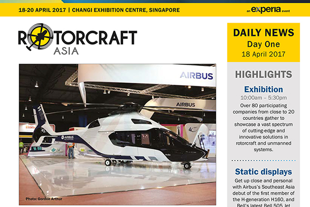Rotorcraft Asia 2017 Daily News - Day One