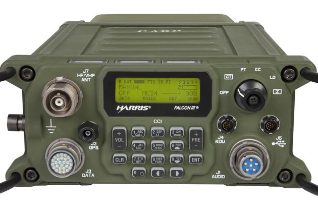Harris' RF-300H radio earns NSA certification