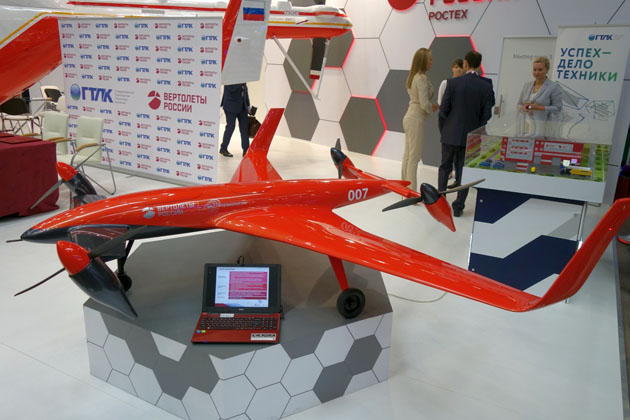 HeliRussia 2017: Russian Helicopters tests its unmanned tiltrotor