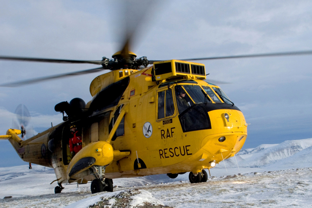 UK MoD issues Sea King helicopter support contract