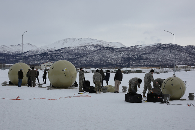 T2C2 SATCOM terminal tested in Alaska
