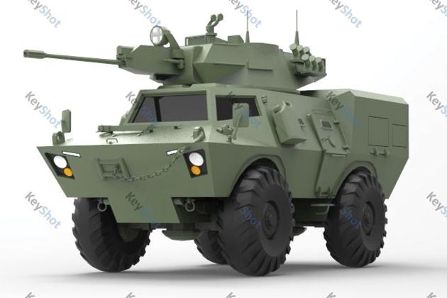Thailand modernises V-150 into HMV-150