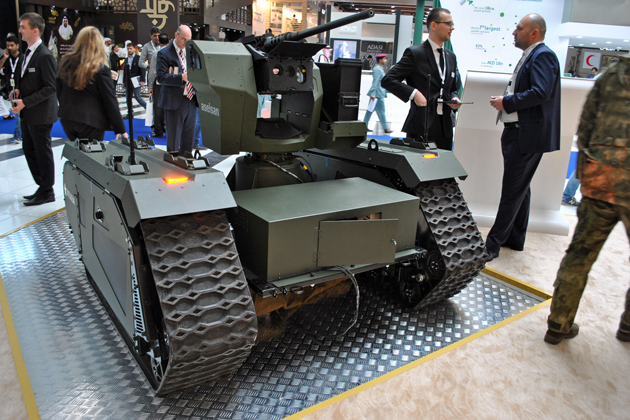 Analysis: Armed robots proliferation continues