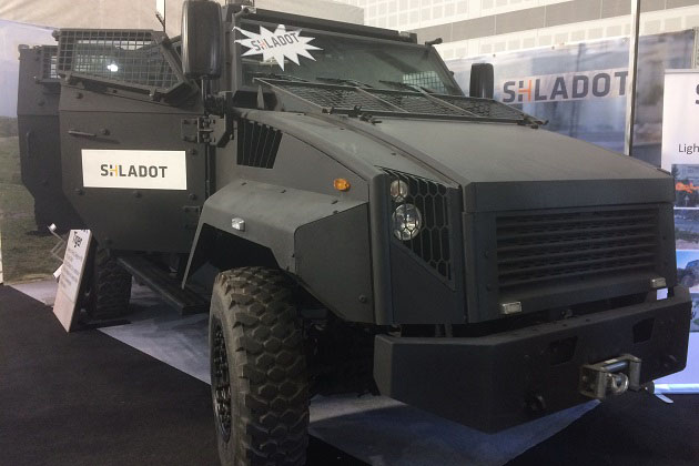 ISDEF 2017: Shladot showcases the Tiger's claws