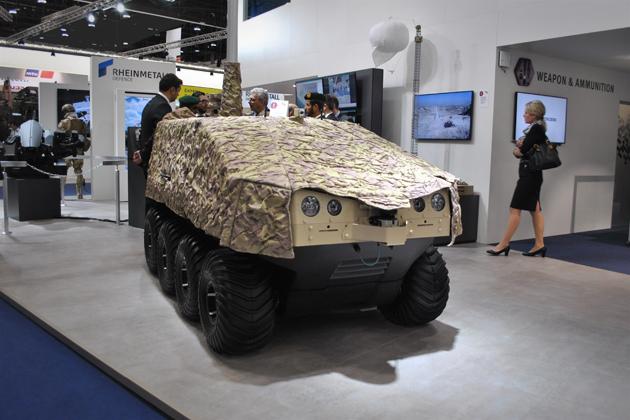 IDEX 2017: Rheinmetall eyes armed UGV market