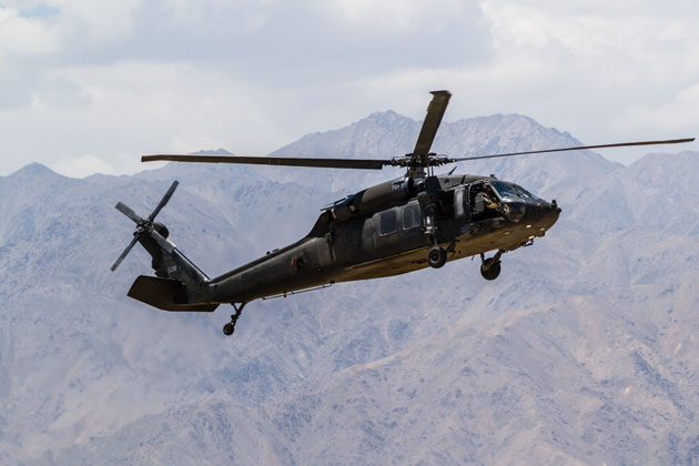 Analysis: Frantic year for military helicopter market
