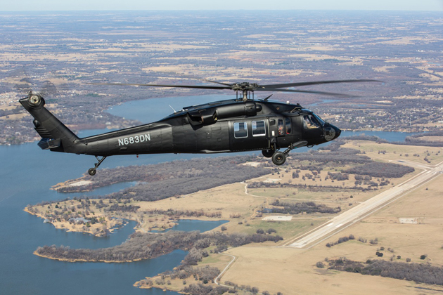 Rogerson Kratos' upgraded UH-60A completes first flight