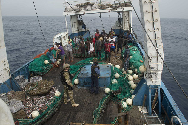 Piracy threat off West Africa remains