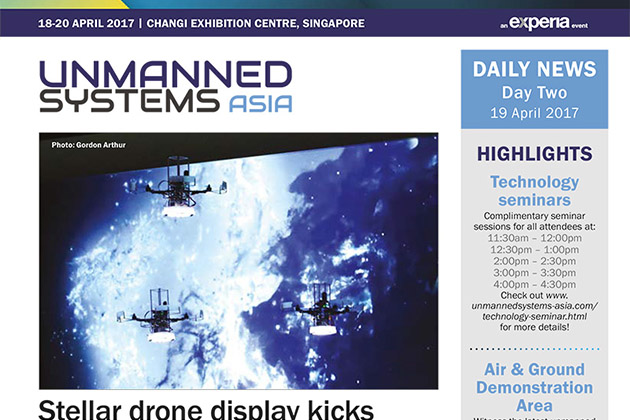 Unmanned Systems Asia 2017 Daily News - Day Two