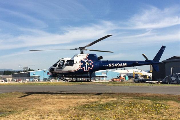 AS350 CRFT flight testing underway