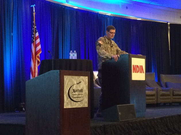 CENTCOM commander calls for increased munitions production