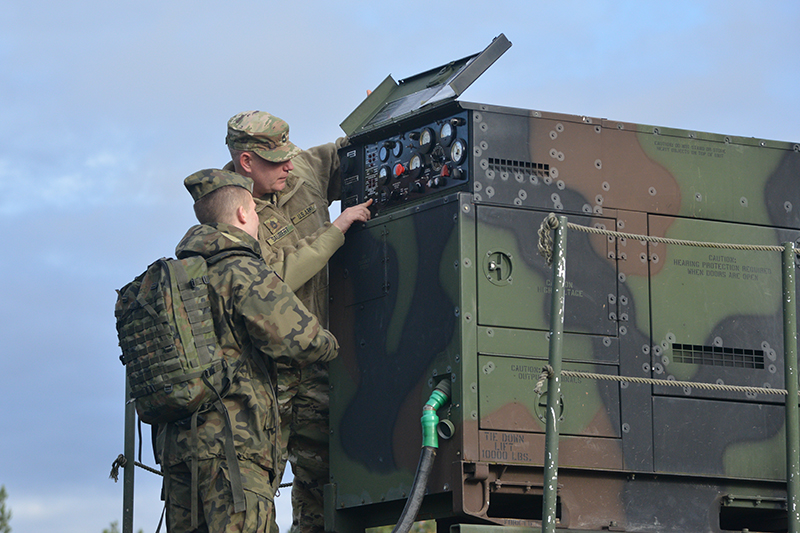 The 2015 demonstration consisted of experts from the battery briefing visitors on equipment purposes and capabilities, and maintenance requirements. (US Army photo)