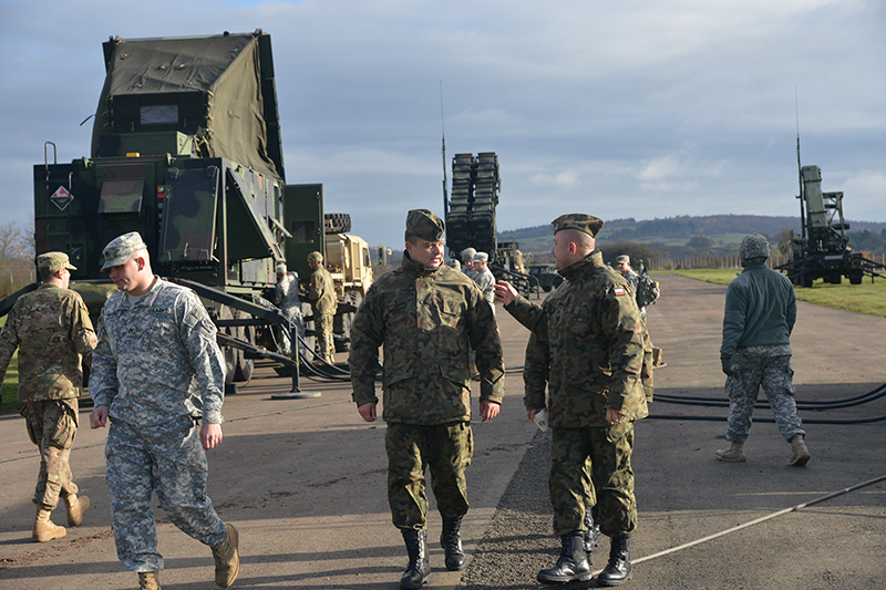 The 2015 visit helped to strengthen and maintain the strong partnership with Polish forces by providing them with first-hand knowledge about air defence capabilities within NATO. (US Army photo)